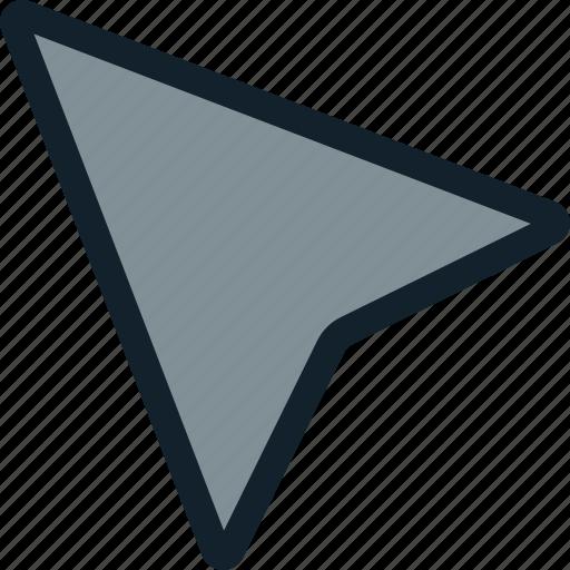 arrow, cursor, mouse, movement icon