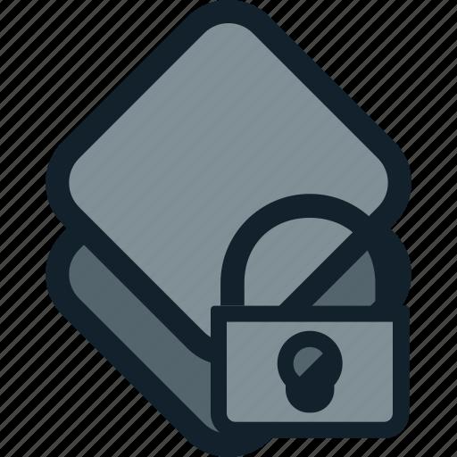 layer, layers, lock, locked, locker, stack icon