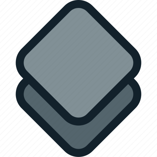 layer, layers, stack icon