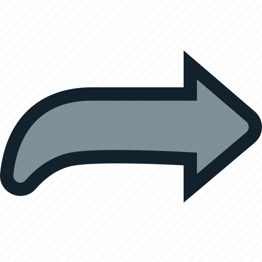 arrow, redo, right icon
