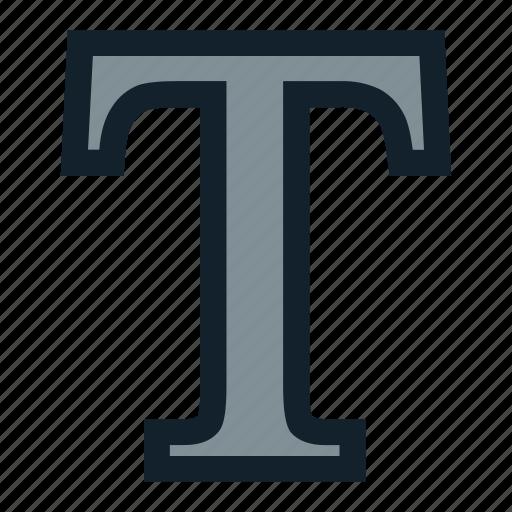 family, font, text, type icon