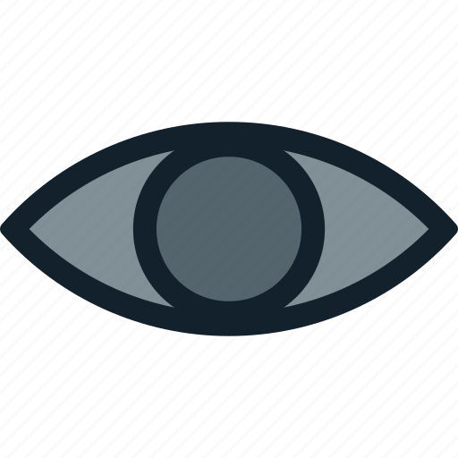 eye, look, visibility, visible, watch icon