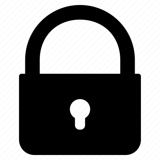 lock, locker, padlock, secure, security icon