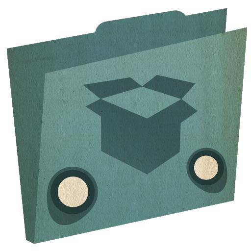 512, dropbox, folder icon