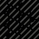 carbon structure, geometric pattern, graphene technology, hexagonal lattice, molecular structure icon