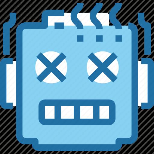 engineering, intelligence, robot, robotics, technology icon