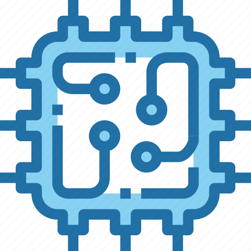 cpu, engineering, robotics, technology icon