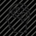 human brain, head, mind, intelligence