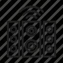 smart music column, sound system, artificial intelligence, ai