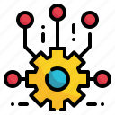 gear, artificial, intelligence, ai, setup, control