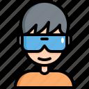 vr, virtual, reality, goggles, electronics, glasses, smart