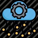 cloud, ai, artificial, intelligence, gear, processor