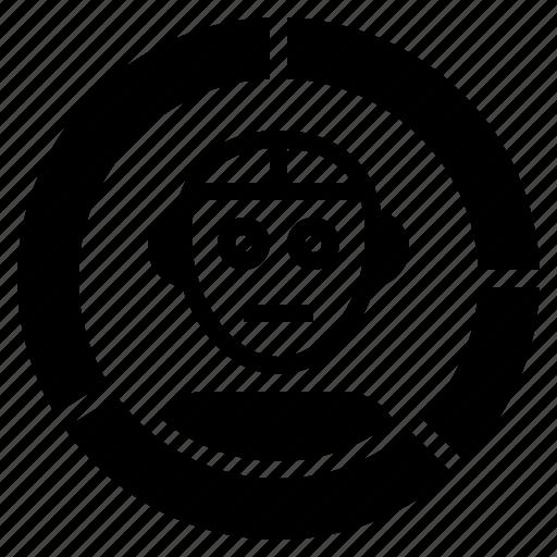 ai, analysis, artificial, data, intelligence icon