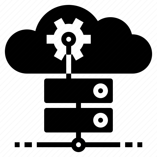 ai, artificial, cloud, intelligence, servers icon