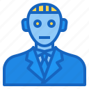 ai, artificial, avatar, intelligence, robot icon