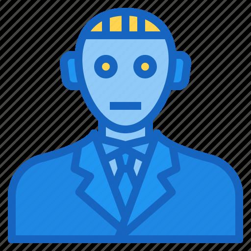 ai, artificial, avatar, intelligence, robot icon