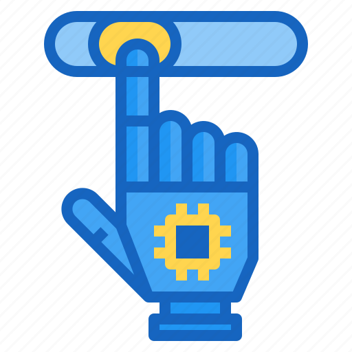 ai, artificial, hand, intelligence, tab icon