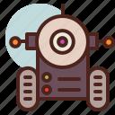 future, robot3, smart, tech icon