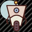 future, robot5, smart, tech icon