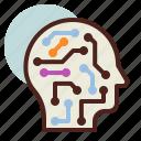 future, mechanism, robot, smart, tech icon