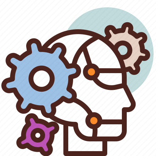 Future, robot, settings, smart, tech icon - Download on Iconfinder