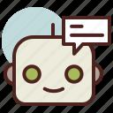 future, robot, smart, talk, tech