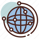 future, smart, tech, www icon