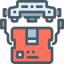 delivery, drone, fly, product, robot, technology icon