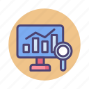 analysis, analytics, big, chart, data, diagram, statistics icon