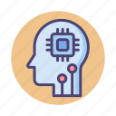 ai, artificial, artificial intelligence, intelligence icon