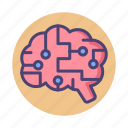 brain, brainy, simulation, stimulation icon