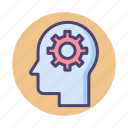 cognition, cognitive, learning, processing, subconscious, thinking icon