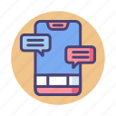 app, chat, message, messaging icon
