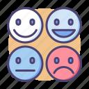 emoji, emotions, eq, smiley, emotional, health, intelligence icon
