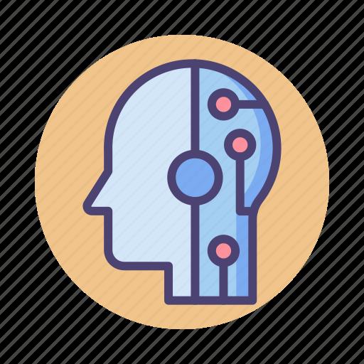 computer, human, interaction icon