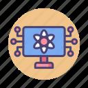 computing, quantum, quantum computer, quantum computing icon