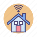 house, smart, smart house icon