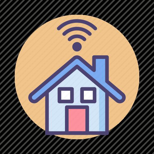 house, smart, smart house icon