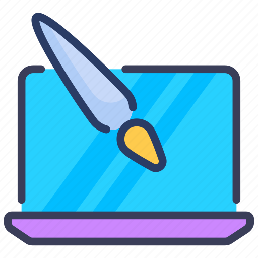art, computer, graphic, illustration icon