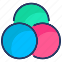 color, palette, rgb, transparency icon