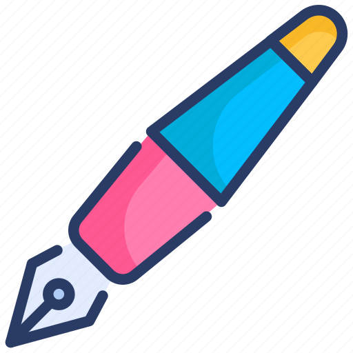 pen, sign, stationary, streamline, write icon
