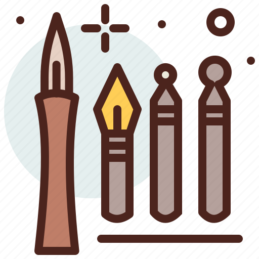 Art, caligraphy, hobby, pen icon - Download on Iconfinder
