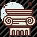 art, column, hobby icon