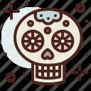 art, hobby, mexican, skull