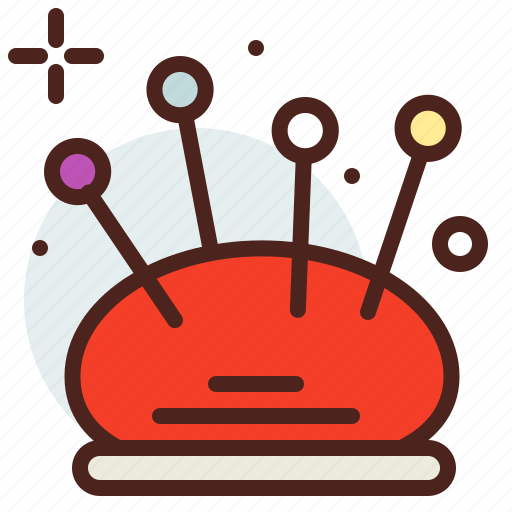 Art, cushion, hobby, needle, pin icon - Download on Iconfinder