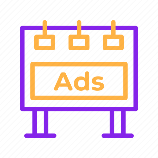 Advertisement, advertising, announcement, billboard, marketing, promotion icon - Download on Iconfinder
