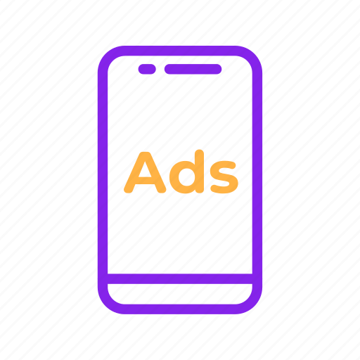 Ads, advertisement, advertising, internet, mobile, phone, smartphone icon - Download on Iconfinder