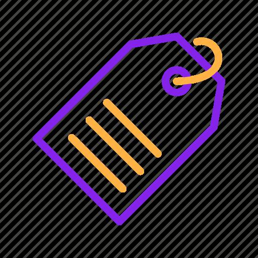 Advertisement, advertising, keyword, metatag, seo, tag icon - Download on Iconfinder