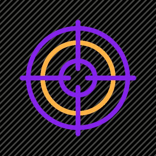 Advertisement, advertising, aim, focus, goal, marketing, target icon - Download on Iconfinder