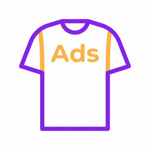 Ads, advertisement, advertising, promotion, shirt, tshirt icon - Download on Iconfinder